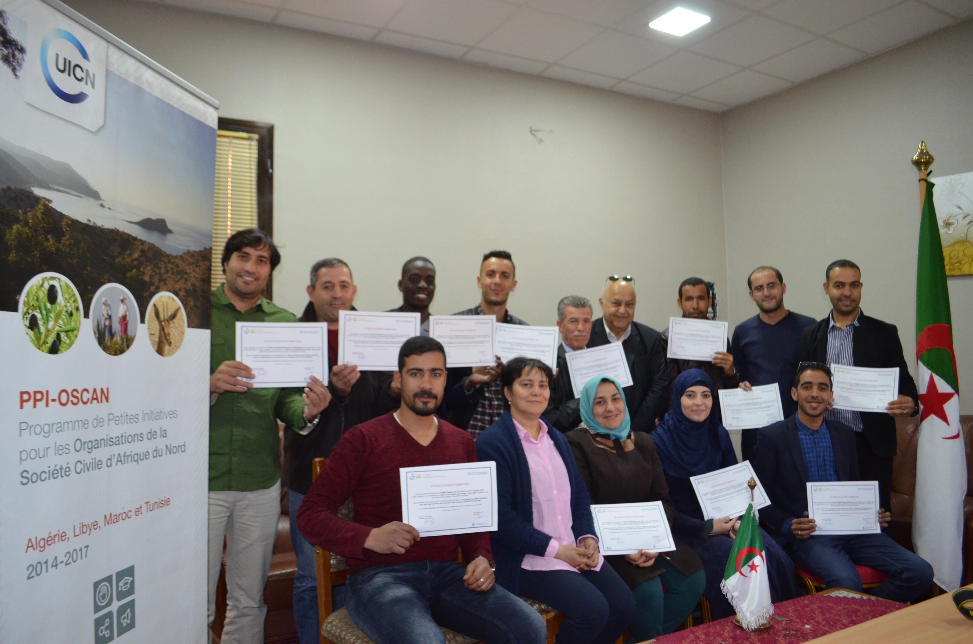 Formation des Associations bénéficiaires en Suivi-Evaluation des Projets Associatifs en Algérie
