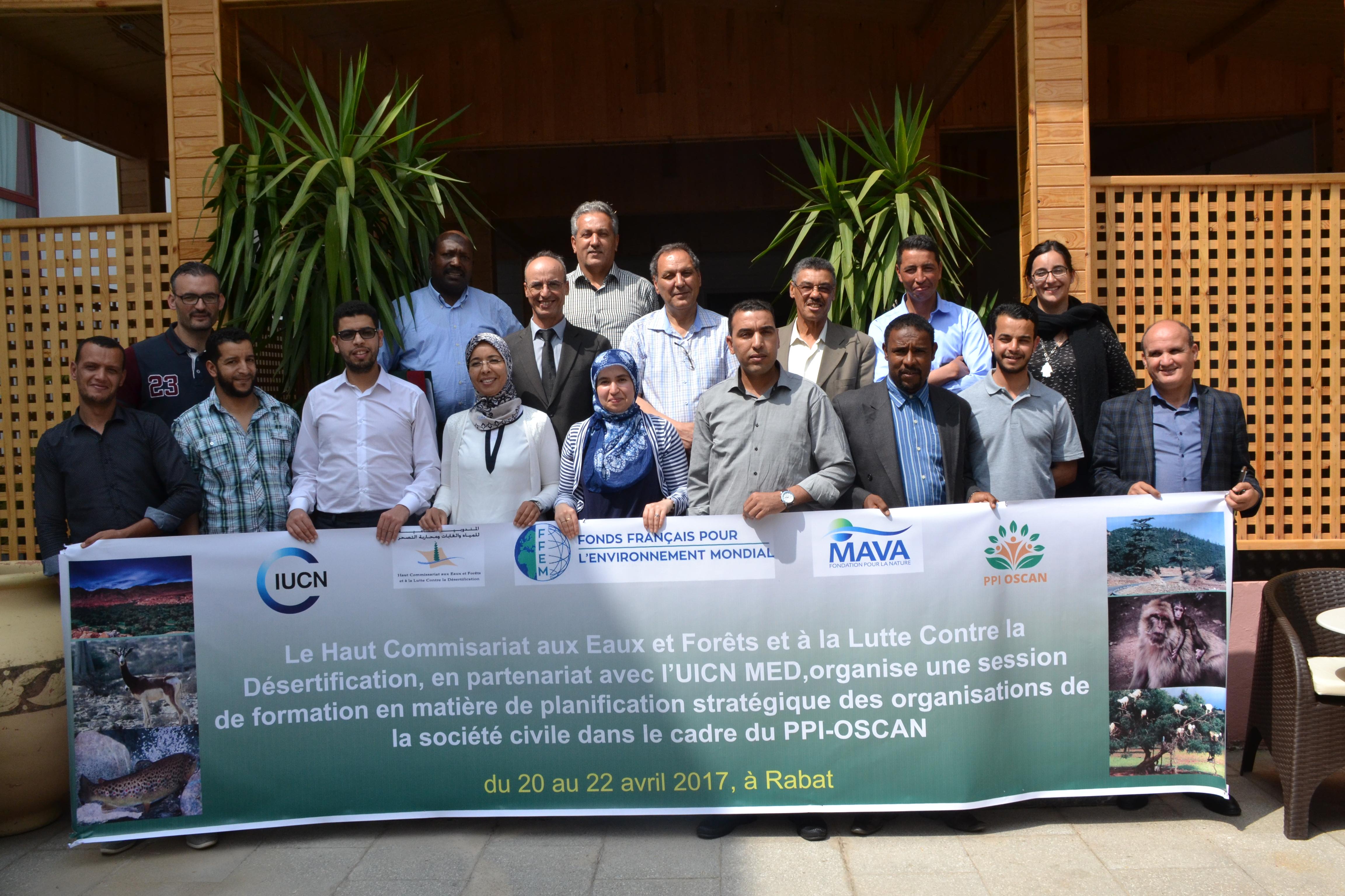 Formation sur la Planification Stratégique pour les OSC au Maroc